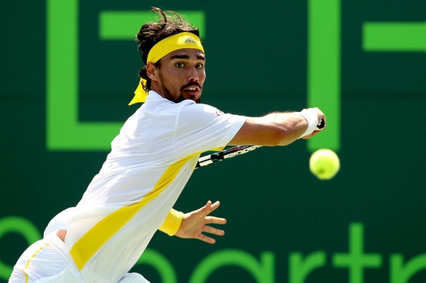 Fognini 3 Getty