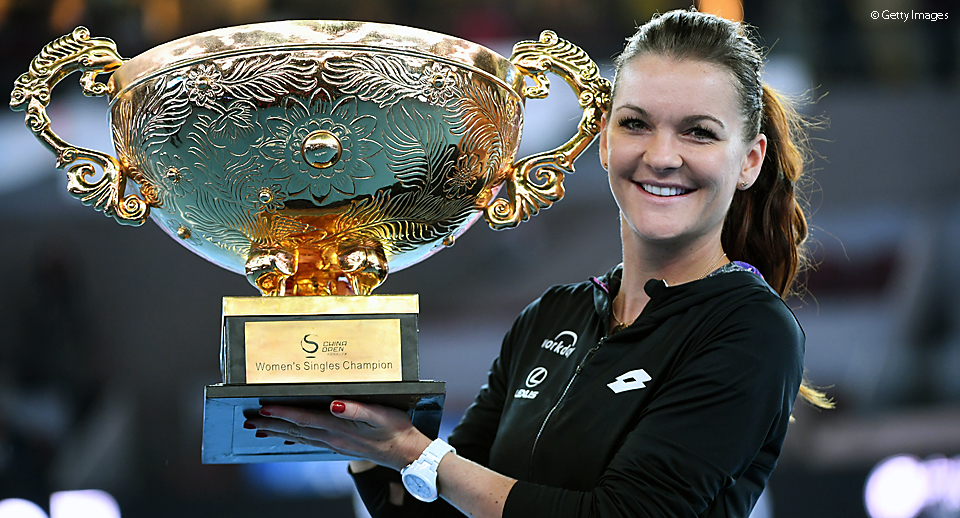 Radwanska Getty